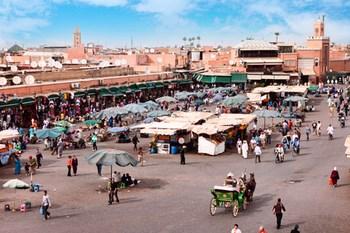 Biluthyrning Marrakech