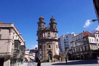Biluthyrning Pontevedra
